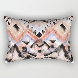 Southwest Floral Rectangular Pillow