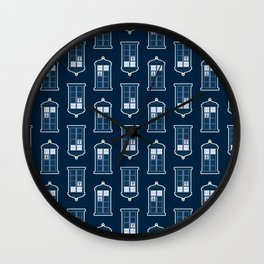 A Thousand Points In Time And Space Wall Clock