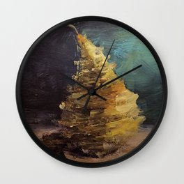 Deconstructed Pear Wall Clock