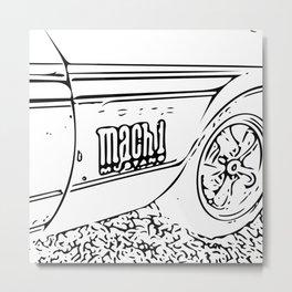Mach 1 Metal Print