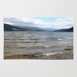 Lake in the Canadian Rockies Rug