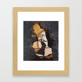 advice for coping with chronic mental illness? Framed Art Print