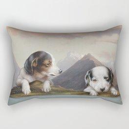 The Dogs Rest Rectangular Pillow