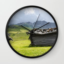 View of Dolmiti Wall Clock