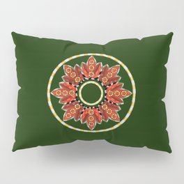 Ring Around the...buds and leaves Pillow Sham