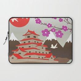 Japanese Pagoda Laptop Sleeve