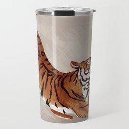 Tiger Stretch Travel Mug