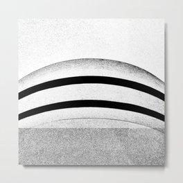 Wright's Curve. Metal Print