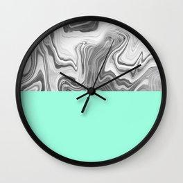 Liquid Sea Wall Clock