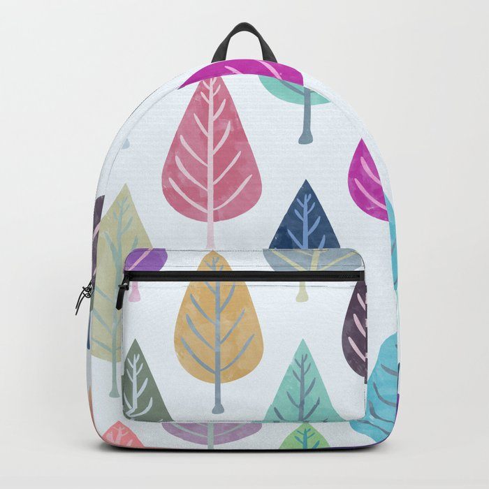 Watercolor Forest Pattern III Backpack