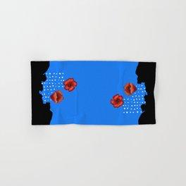 Coquelicot et larmes bis Hand & Bath Towel