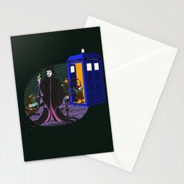 Sleeping Blue Box Stationery Cards
