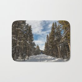 Yellowstone National Park - Grand Loop Road Bath Mat