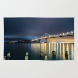 San Francisco Bay Bridge Rug