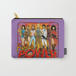 SuperWomen of the 80s - Fight The Power! Carry-All Pouch