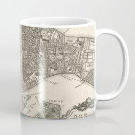 Vintage Map of Venice Italy (1764) Coffee Mug