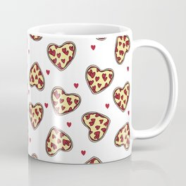 Pizza hearts cute love gifts foodie valentines day slices Coffee Mug