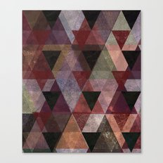 Abstract #482 Triangle Collage Canvas Print