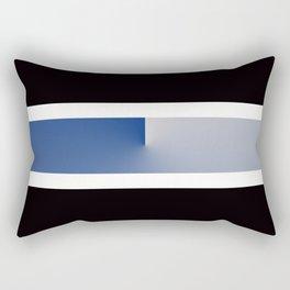 Team Colors 3....navy, blue gray Rectangular Pillow