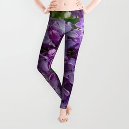 Lilac Blooms Leggings