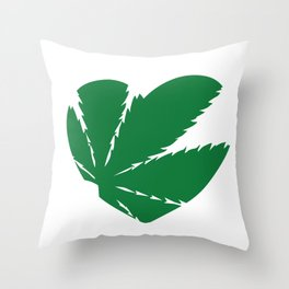 We Love Weed Porn Throw Pillow