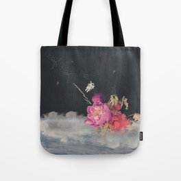 Space Florist Tote Bag