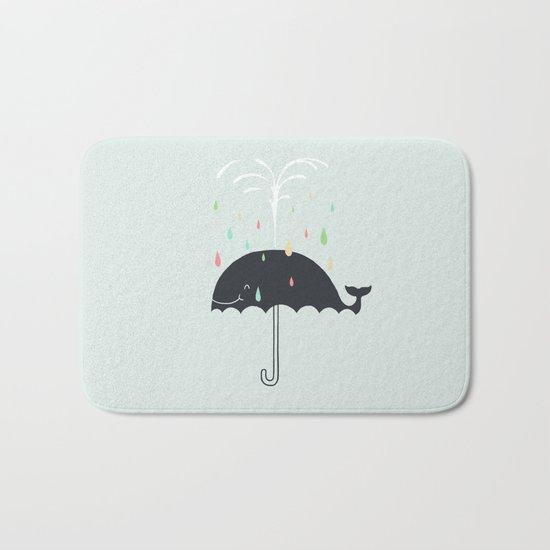 Happy Rainy Day Bath Mat
