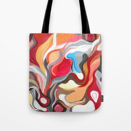 Gate to Hell and licorice Tote Bag