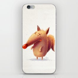 Monday fox iPhone Skin