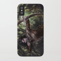 katniss iPhone & iPod Cases featuring Katniss by jasric