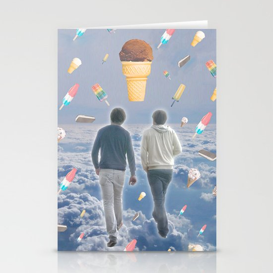 Bill & Nick's Ice Cream Adventure! Stationery Cards