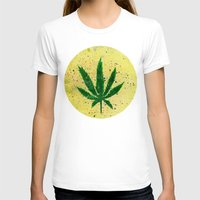 marijuana T-shirts featuring MARIJUANA by Sha Abdullah