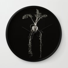 Project 'Decay'. Carrot. Wall Clock