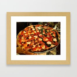 pizzaaaa Framed Art Print