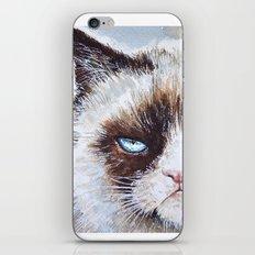 Tard the cat iPhone & iPod Skin