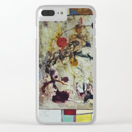 Comets Clear iPhone Case