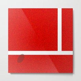 """""""IN"""" – Hawk-Eye – Sand Metal Print"""