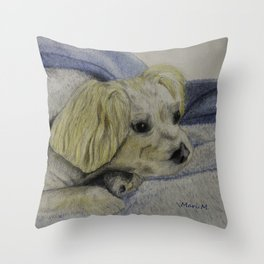 Her name was Angel Throw Pillow