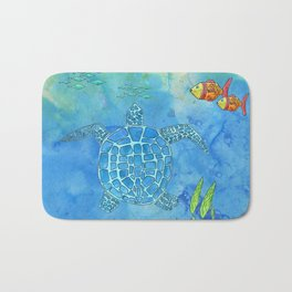Secret Turtle Bath Mat