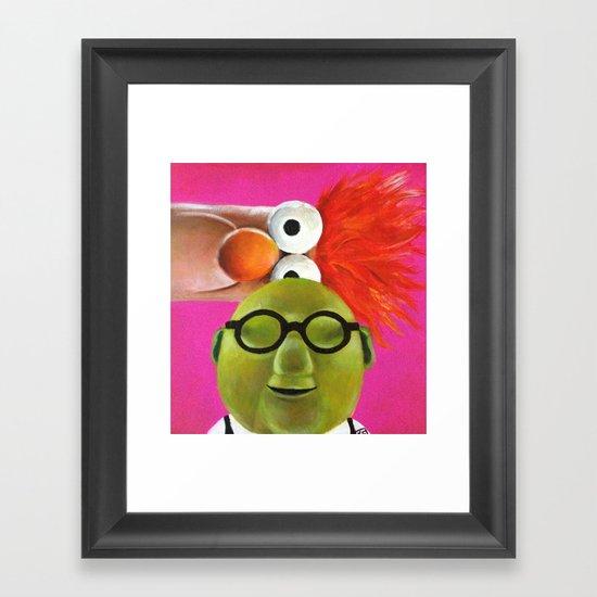 The Muppets - Bunsen and Beaker Framed Art Print