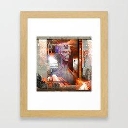 "CITY OF GODS ""The Alien Nation Collection"" Framed Art Print"
