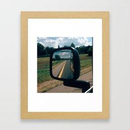 Summertime Country Roads Framed Art Print