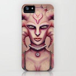 Hoty Grunge Alien Medusa iPhone Case