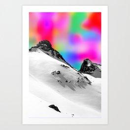 Winter Trip Art Print