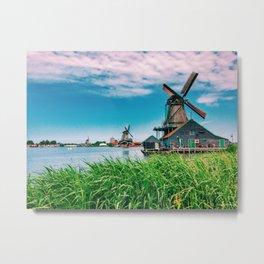 amazing windmills  Metal Print