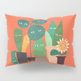 The plants are watching (paranoidos maximucho) Pillow Sham