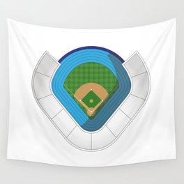 Baseball Stadium Wall Tapestry