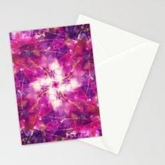 Pink Floral Mandala Stationery Cards