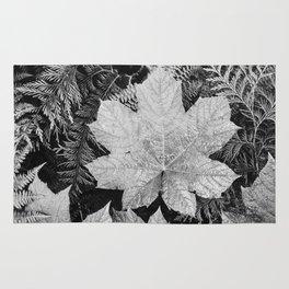 Ansel Adams - Leaves Rug