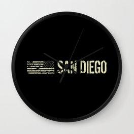 Black Flag: San Diego Wall Clock